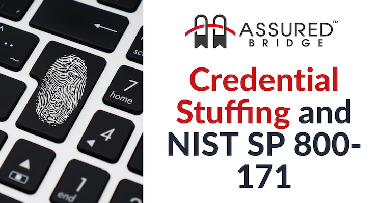 Credential Stuffing and NIST SP 800-171