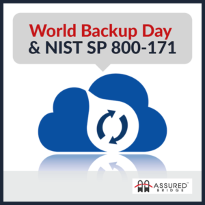 world backup day and nist sp 800-171